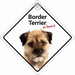 Border Terrier On Board - Autobordje